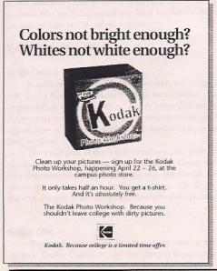 Kodak Classes - Version 3